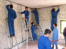 ремонт стен помещений Ишимбай
