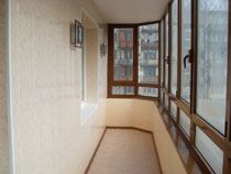 Отделка балкона в Ишимбае. Отделка лоджии